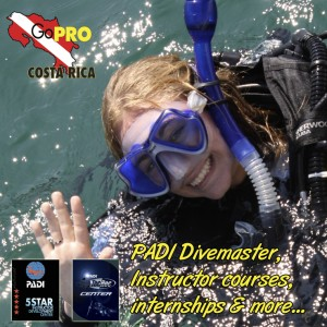 Go Pro Costa Rica IDC, Divemaster and Technical dive training
