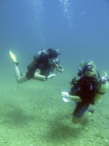 How to become a scuba diving instructor