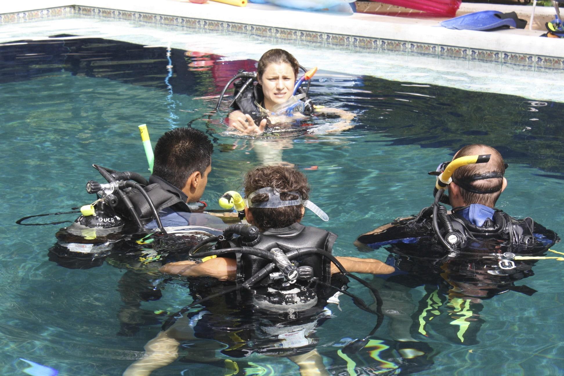 I am a scuba instructor