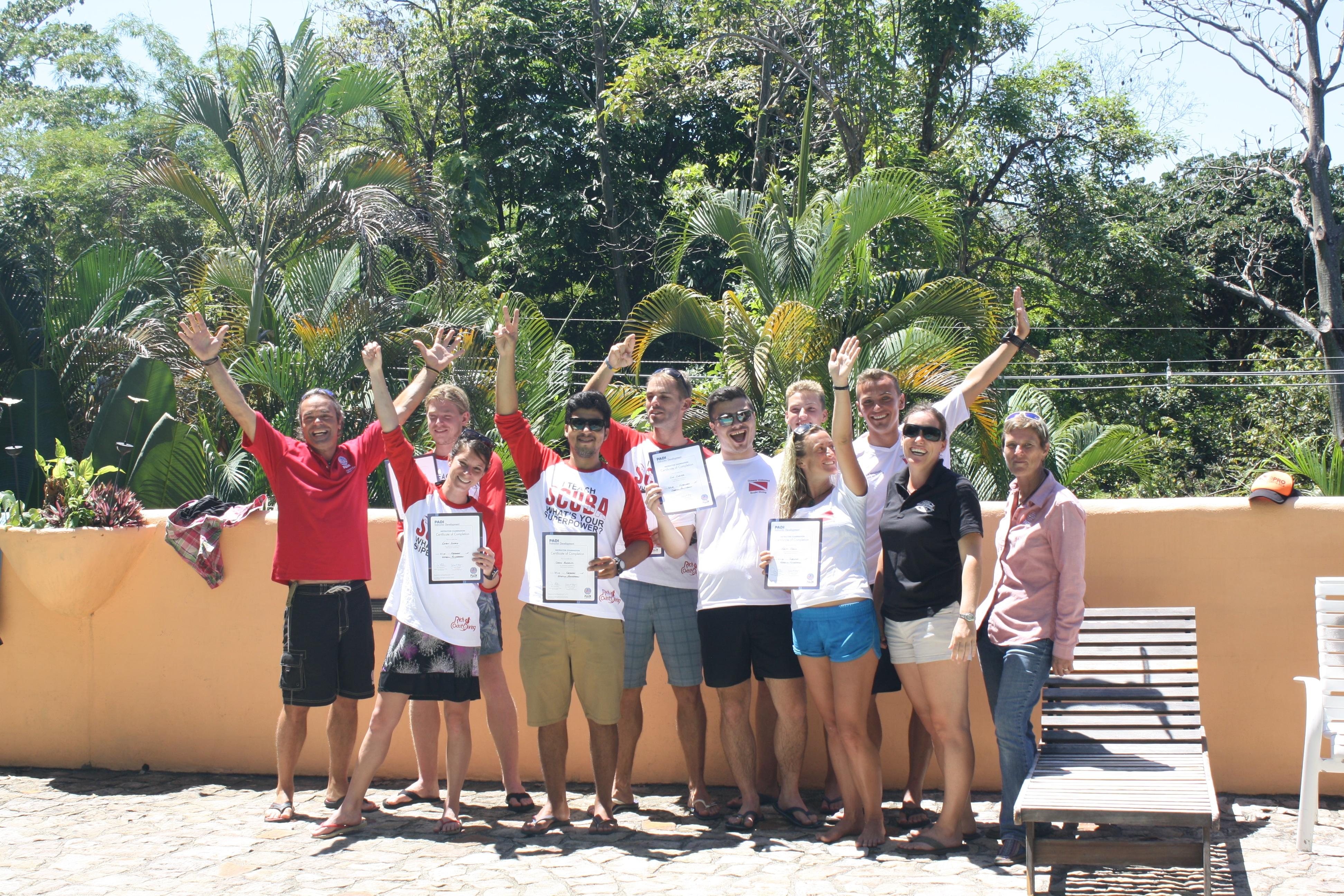 PADI IDC Costa Rica