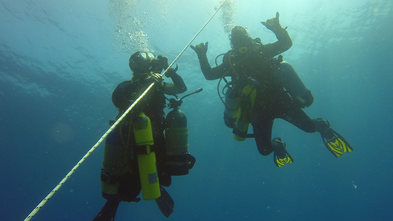 technical dive training