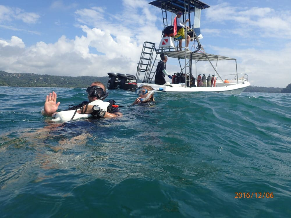 rescue diver program in costa rica