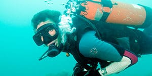 underwater navigation instructor