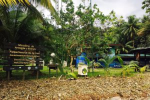 park ranger center cocos island