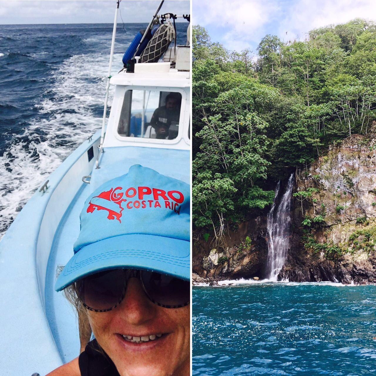 Kat in Cocos Island
