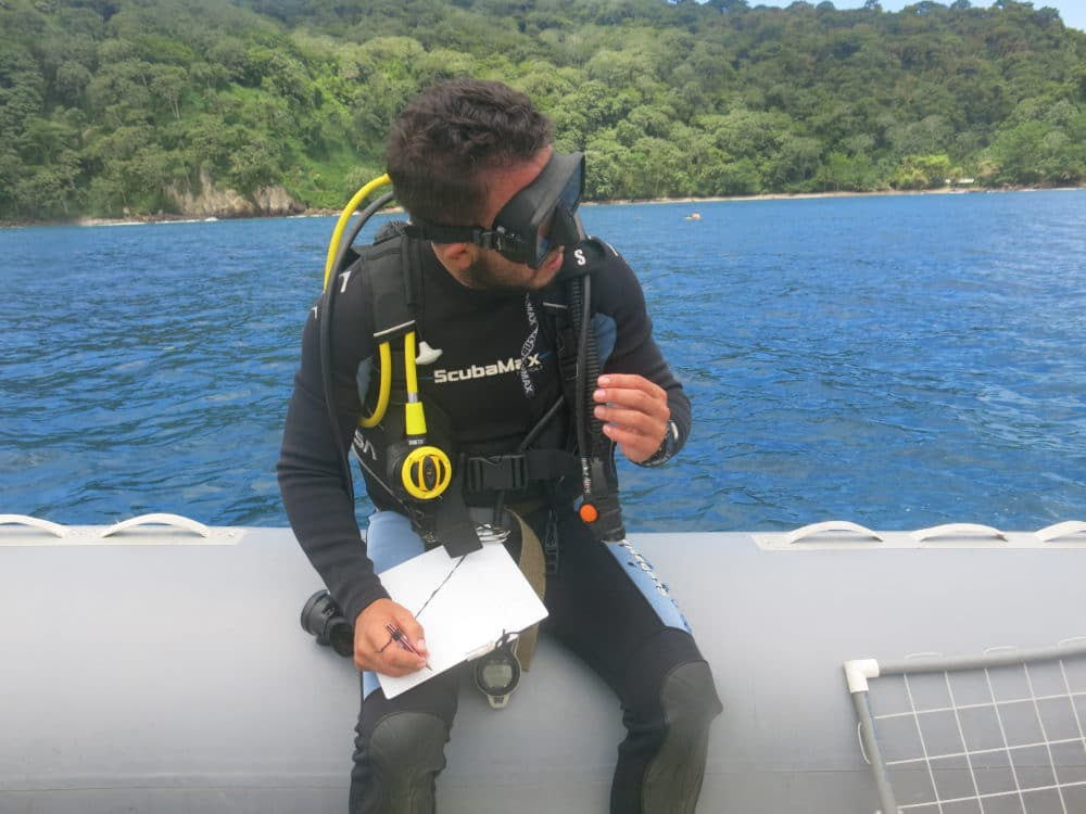 Ready to complete a marine survey