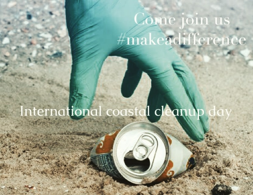 International Coastal clean up day – Make a difference