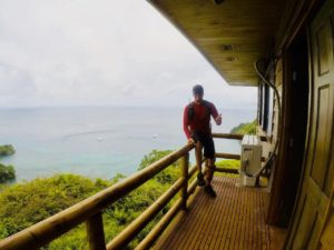 Bastian on cocos island