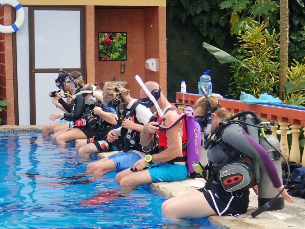 padi idc pool session costa rica