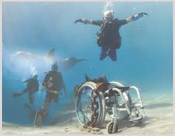 adaptive scuba diving