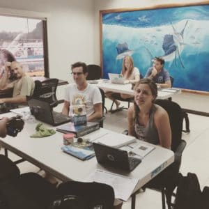 studying for a PADI IDC