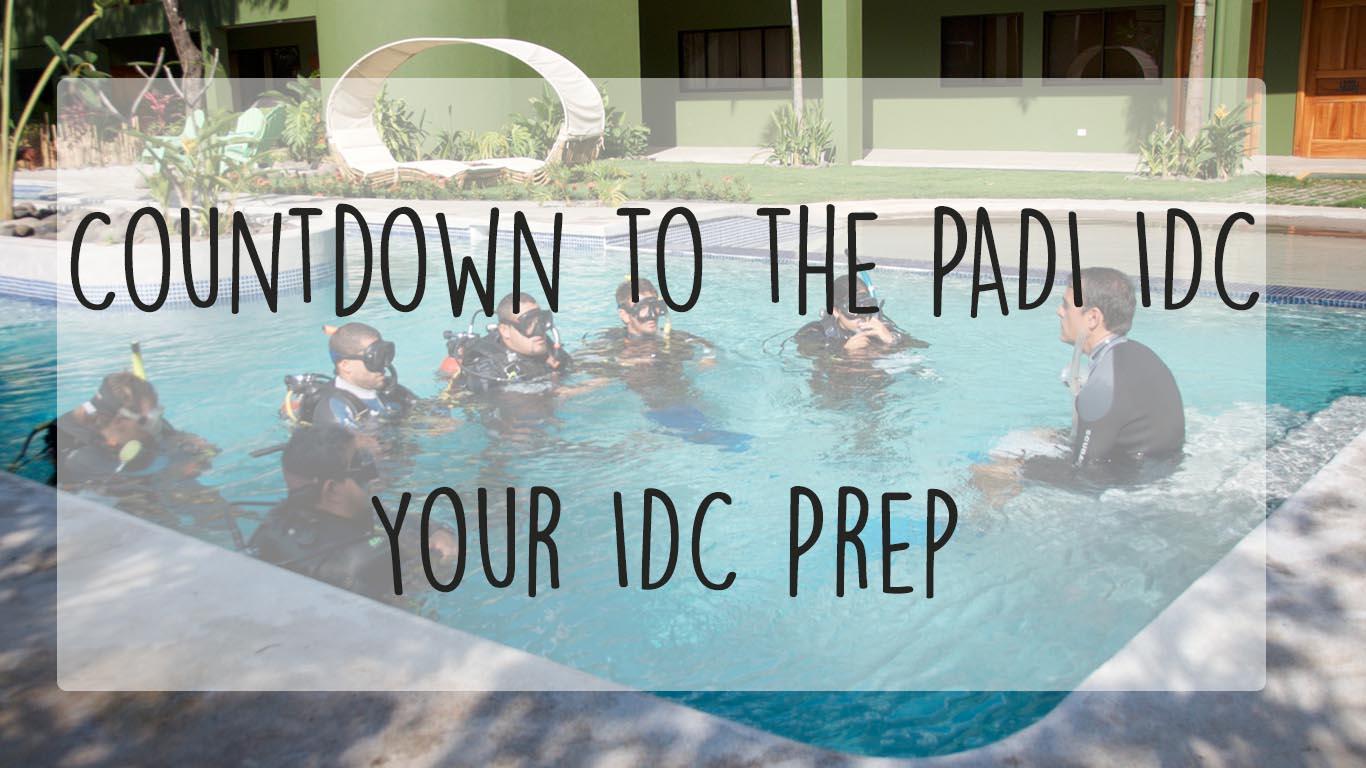PADI IDC prep
