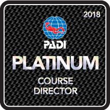 PADI Platinum course director costa rica