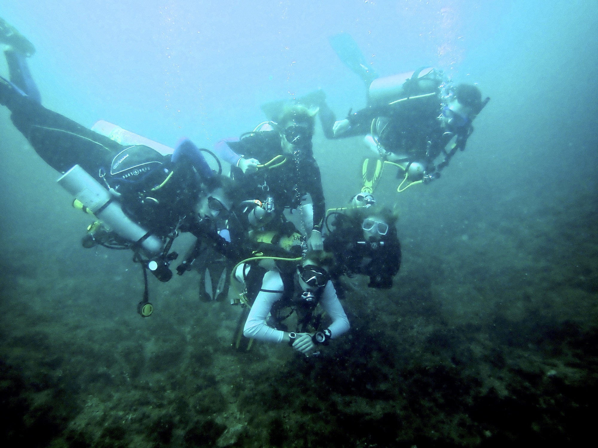fun on the self reliant diver course