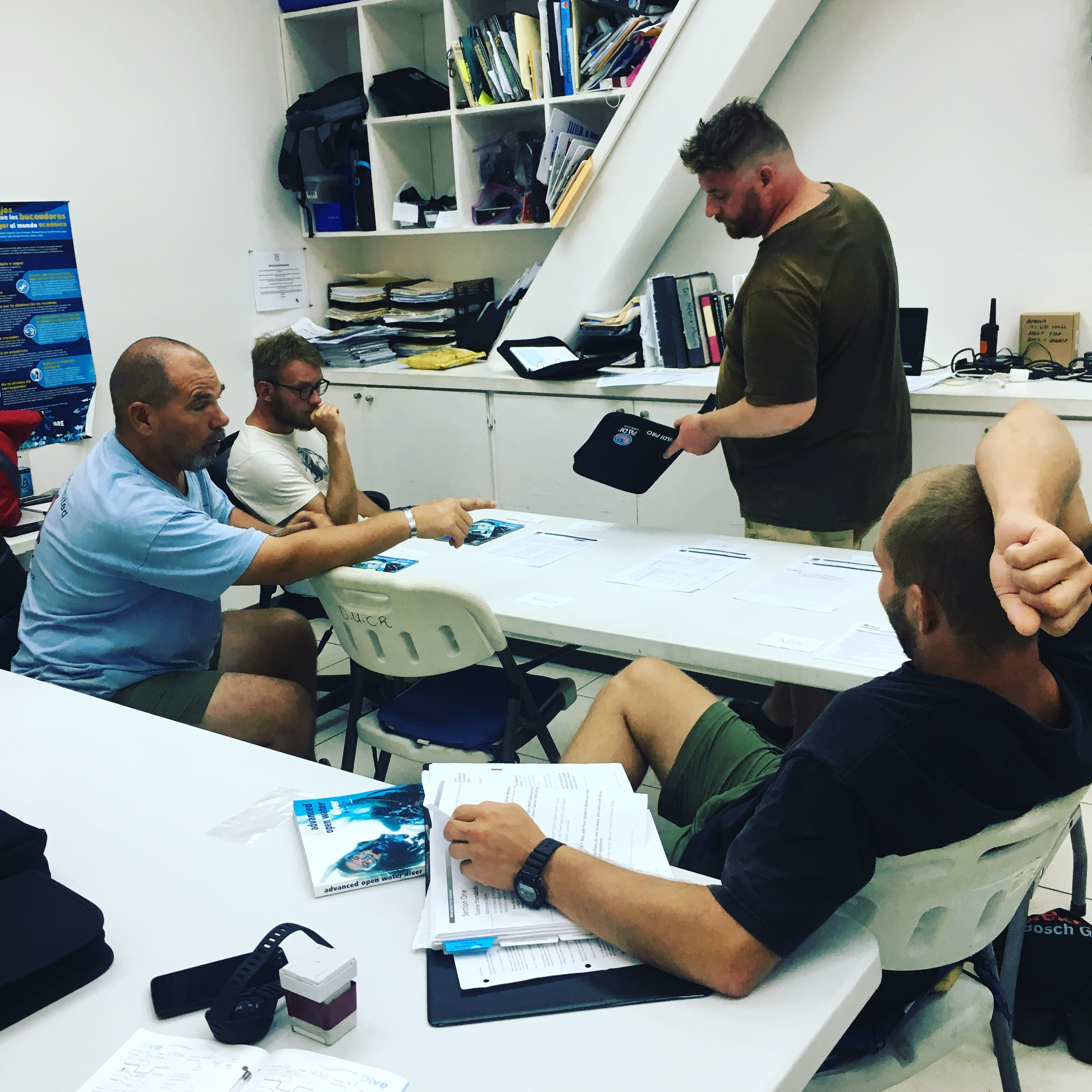 Risk Management and paperwork in scuba