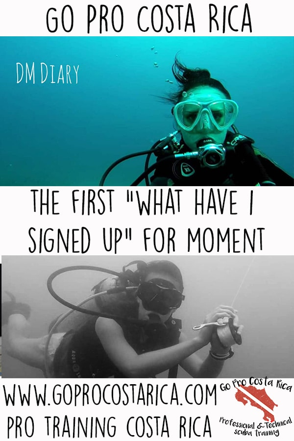 what have i signed up for with my padi divemaster