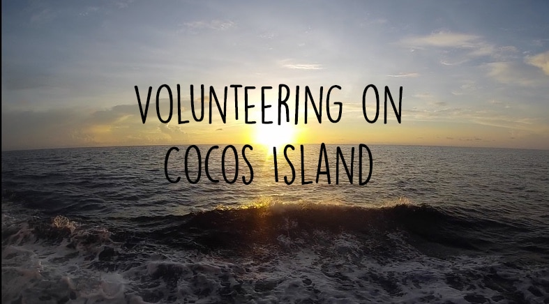 Volunteering on Cocos Island – Arrival and excitement
