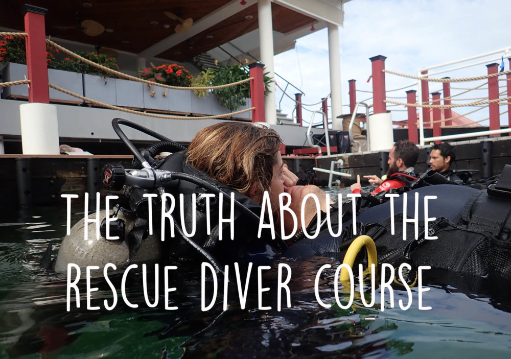 the truth about the rescue diver course