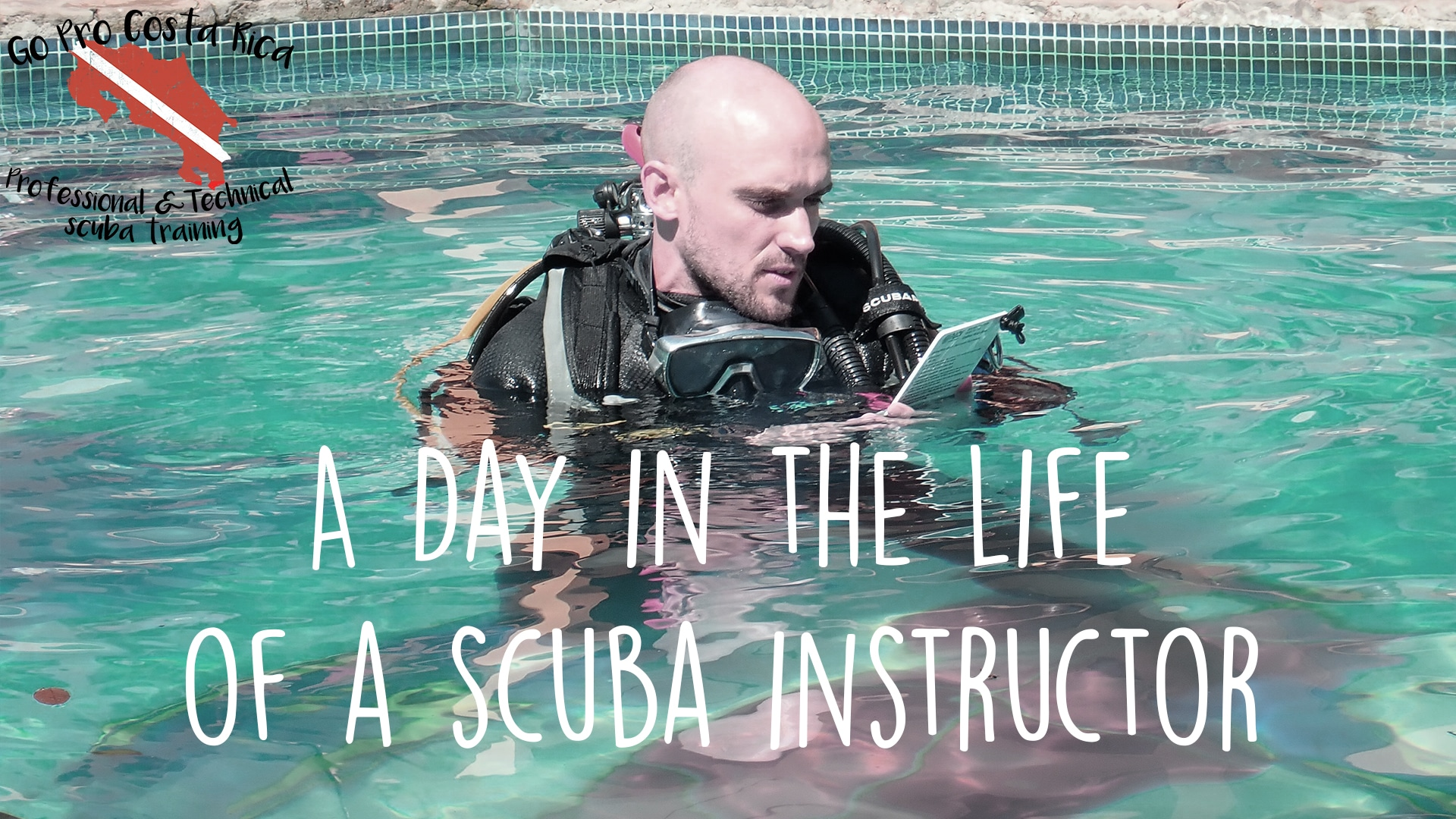 a day in the life of a scuba instructor