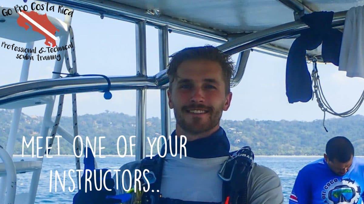 scuba instructor costa rica