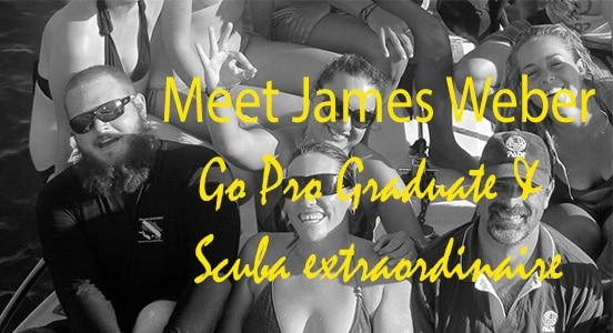 James Weber - Padi instructor graduate