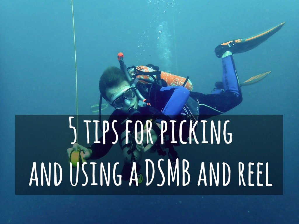 5 tips for using a DSMB and reel