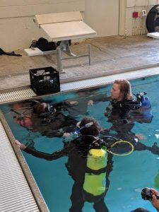 All aspects of scuba instruction