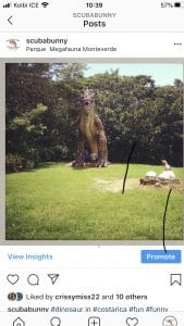 dinosaurs in Costa Rica