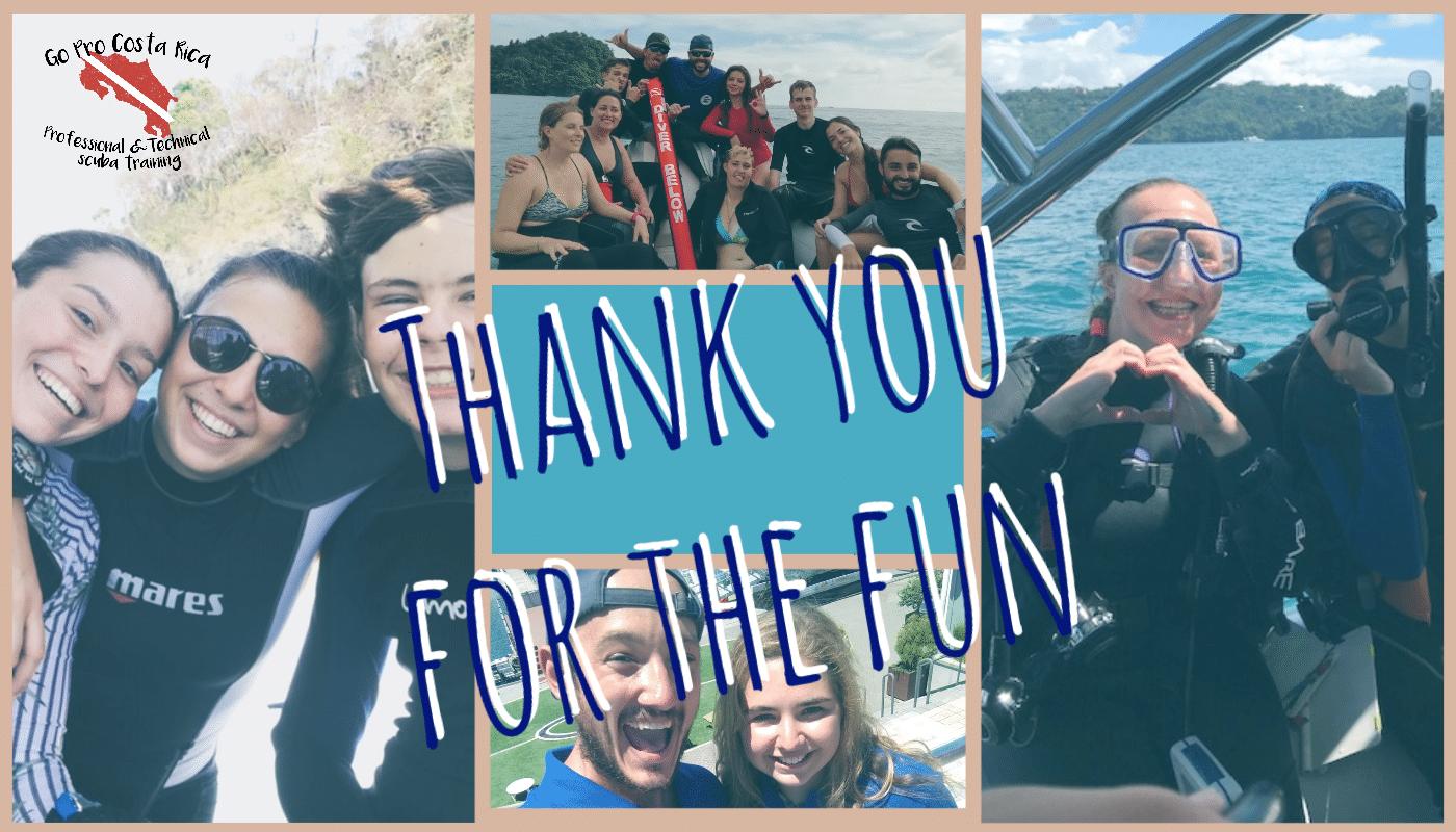 The shortest dive season ever – Thank you guys, it was fun!