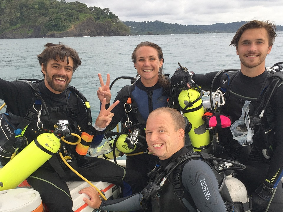 self reliant dive training